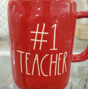 Rae Dunn #1 TEACHER Mug